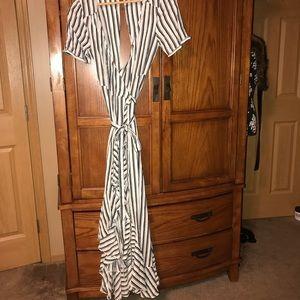 ASOS wrap dress never worn